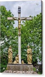 Crucified Acrylic Print