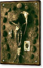 Crucifix, The Loss Acrylic Print