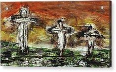Crucifixion #2 Acrylic Print