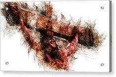 Crucifixion Acrylic Print