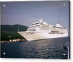 Acrylic Print featuring the photograph Cruise In Style by Judyann Matthews
