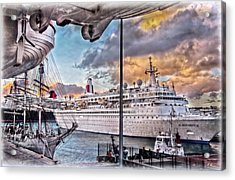 Cruise Port - Light Acrylic Print by Hanny Heim