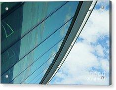 Cruise Ship Abstract Serenade Windows 1 Acrylic Print