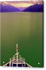 Cruise To The Sun Acrylic Print by Mindy Newman