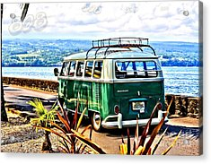 Acrylic Print featuring the photograph Cruisin' 808 by DJ Florek
