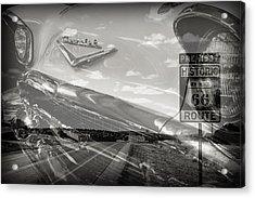 Cruisin Route 66 Acrylic Print