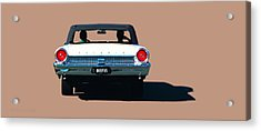 Cruisin' Acrylic Print by Susan Vineyard