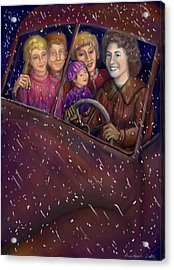 Cruisin' With The Big Kids Acrylic Print by Dawn Senior-Trask
