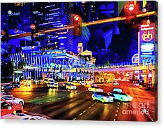 Cruising On The Strip Acrylic Print