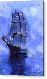Cruising The Open Seas Acrylic Print