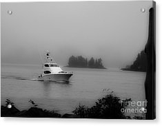 Cruising To Shore Acrylic Print