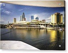 Cruising To Tampa In Hdr Acrylic Print