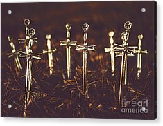 Crusaders Cemetery Acrylic Print by Jorgo Photography - Wall Art Gallery