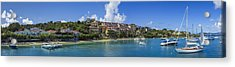 Acrylic Print featuring the photograph Cruz Bay, St. John by Adam Romanowicz