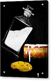 Acrylic Print featuring the photograph Crying Over Spilled Milk by Diana Angstadt