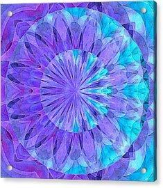 Crystal Aurora Borealis Acrylic Print