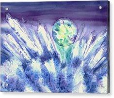 Crystal Awakening Acrylic Print
