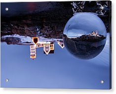 Acrylic Print featuring the photograph Crystal Ball Nubble by Chris Babcock
