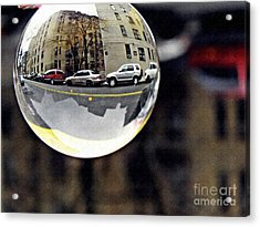 Crystal Ball Project 89 Acrylic Print by Sarah Loft