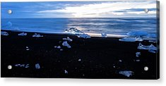 Acrylic Print featuring the photograph Crystal Beach Iceland by Brad Scott