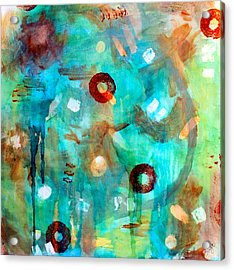 Crystal Blue Persuasion Acrylic Print by Shelley Graham Turner