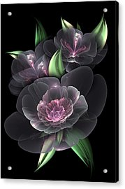 Crystal Bouquet Acrylic Print