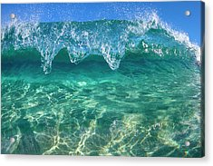 Crystal Clam Acrylic Print by Sean Davey