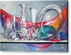 Crystal Clear In Color No 3 Acrylic Print