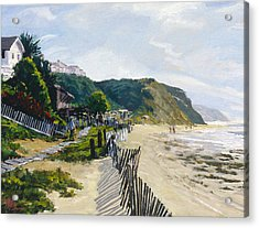 Crystal Cove Afternoon Acrylic Print by Mark Lunde