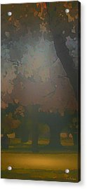 Crystal Forest Acrylic Print by Kat Besthorn