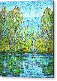 Crystal Lake Enchantment Acrylic Print