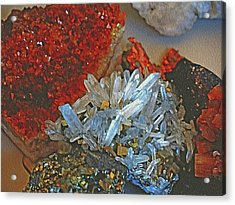 Crystal Medley 5 Acrylic Print