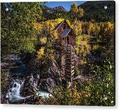 Crystal Mill Colorado Acrylic Print