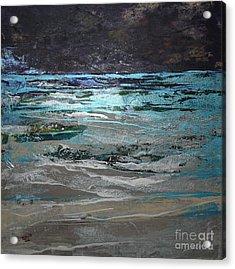 Crystal Sea Acrylic Print by Donna McLarty