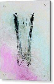 Crystal Vase Acrylic Print