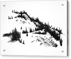 Crystal View Acrylic Print by Paul Illian