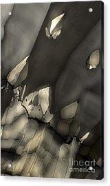 Falling Crystals Acrylic Print