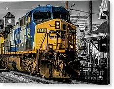 Csx Engine Gaithersburg Md Acrylic Print