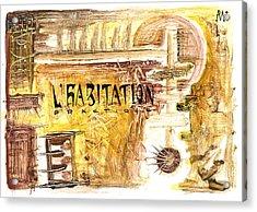 Cuarto Menguante Acrylic Print by Armando Ruiz