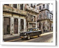 Cuba 01 Acrylic Print by Marco Hietberg