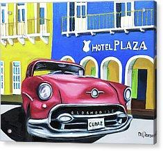 Cuba 2 Acrylic Print by Dean Glorso