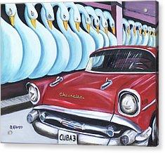 Cuba-3 Acrylic Print by Dean Glorso