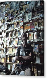 Cuba Book Store Acrylic Print