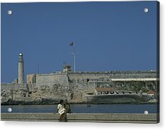 Cuba In The Time Of Castro Acrylic Print