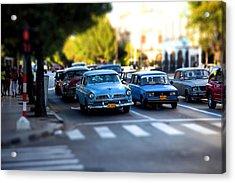 Cuba Street Scene Acrylic Print