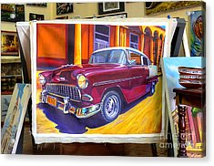 Cuban Art Cars Acrylic Print