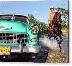 Cuban Horsepower Acrylic Print