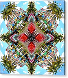 Cuban Kaleidoscope Acrylic Print