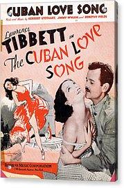 Cuban Love Song Acrylic Print