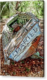 Cuban Refugee Boat 3 The Mariel Acrylic Print